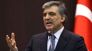 Abdullah Gül'den büyük sürpriz
