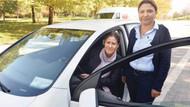 Meclis'in tek kadın şoförü