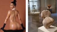 Kim Kardashian'ın kalçasına 6500 yıllık rakip