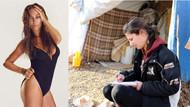 Hülya Avşar'dan Kobanili kadınlara destek