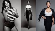 Kim Kardashian ELLE UK kapağında