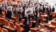 Meclis'te 17 Aralık protestosu