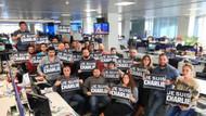 Türkiyeli gazetecilerden Charlie Hebdo'ya destek!
