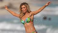 Joanna kendi bikinisini tanıttı