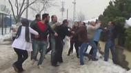 Basın mensuplarına saldırı: 1 yaralı!