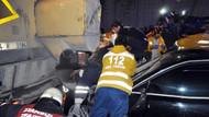 Otomobil asfalt işçilerine çarptı: 2 ölü, 2 yaralı