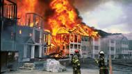 Fabrika yatakhanesinde yangın: 3 ölü!