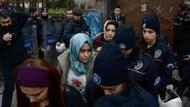 Türbanlı kız öğrenciler gözaltında!