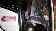 MHP'lileri taşıyan otobüs kaza yaptı: 1 ölü!