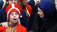 Emine Erdoğan down sendromlu çocuklarla buluştu
