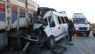 TEM'de feci kaza: 3 ölü, 6 yaralı