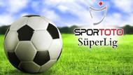 Spor Toto Süper Lig'de maçlar 1 hafta ertelendi