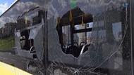 Metrobüsün tekerleği E-5'e fırladı!