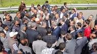 AKP adaylarına karşılamada şok! Yollarını kestiler..