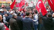 HDP'ye yürüyen grubu polis engelledi