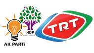 HDP'ye 15 dakika, AKP'ye 1 saat.. TRT'de çifte standart