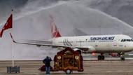 Kaza yüzünden uçuşlar iptal edildi