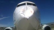 Kuş sürüsü Nevşehir uçağını bu hale getirdi