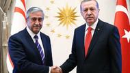 Erdoğan ve Akıncı'dan beraberlik pozu
