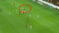 Hakemin kararı Galatasaraylıları çıldırttı