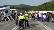Cezaevi minibüsü TIR'la çarpıştı: 3 ölü