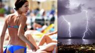 Bodrum'da bikini ve gök gürültüsü bir arada