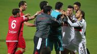 Ankara'da maç bitti yumruklar konuştu!