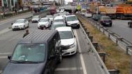 Şile yolunda 11 araç birbirine girdi!