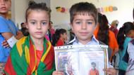 Kürtçe eğitim veren okulda karne heyecanı