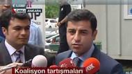 Selahattin Demirtaş: MHP'yi ciddiye almıyoruz