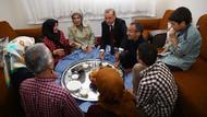 Erdoğan işçi ailesinin iftar sofrasına konuk oldu