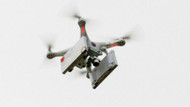 Drone ile kürtaj hapı gönderdiler