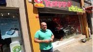 Çin lokantasına taşlı-sopalı saldırı