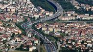 Bayram trafiği havadan böyle görüntülendi
