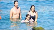 Yeni boşanan Yeşim Salkım eski kocasıyla tatilde