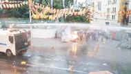 Taksim'de Suruç protestosuna polis müdahalesi