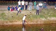 Dalgıçlar suda kaybolan çocukları aramadı!