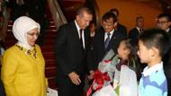 Erdoğan operasyonu Çin'de telefonla takip ediyor