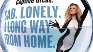 Joanna Krupa balinalar için soyundu