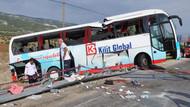 Tur otobüsü takla attı: 4 ölü