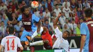 Trabzonspor Avrupa hayaline veda etti