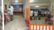 AK Parti İlçe Başkanlığı'na bombalı saldırı!