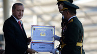 Erdoğan, Kara Harp Okulu diploma törenine katıldı