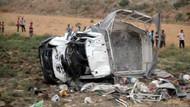 Katliam gibi kaza: 6 ölü, 25 yaralı