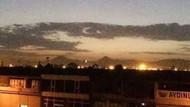 Başkent semalarında ay-yıldızlı muhteşem görüntü
