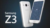 Samsung Z3 geliyor!