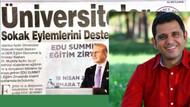 Üniversite patronuna ünlü gazeteciden sert tepki!