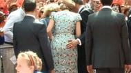 Kraliçe'nin poposunu elledi