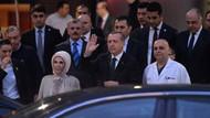 Erdoğan Kenan Işık ve Süleyman Saba'yı ziyaret etti