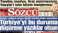 Sözcü'den şok tiraj iddiası